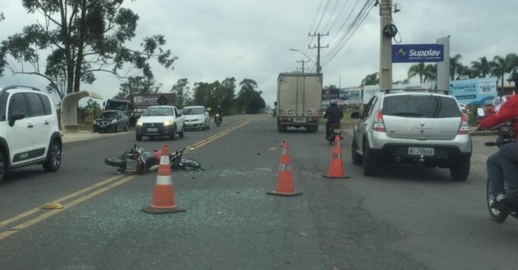 Motociclista morre em acidente em Criciúma