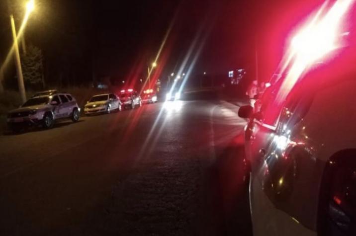 Bandidos roubaram carro e sequestram pai e filho em Içara