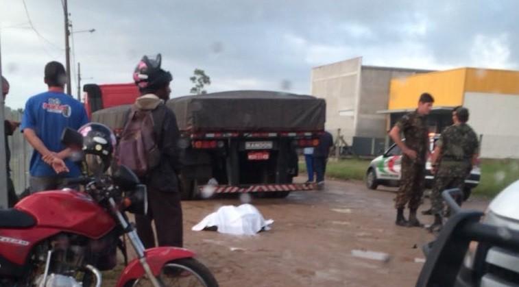 Motociclista morre em acidente em Tubarão