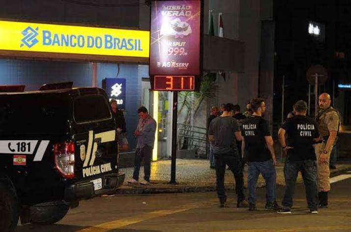 Assalto a banco em Criciúma é considerado o maior da história de SC