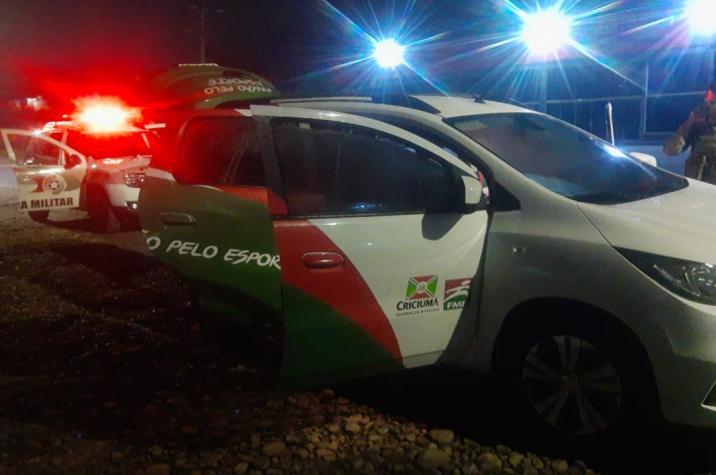 Servidor da Prefeitura de Criciúma é flagrado com drogas em veículo da FME