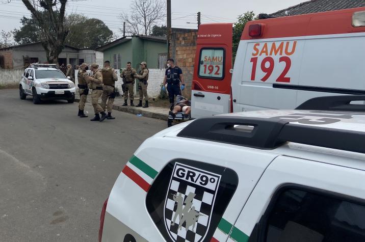 Indivíduo envolvido com o tráfico de drogas é alvejado em Criciúma
