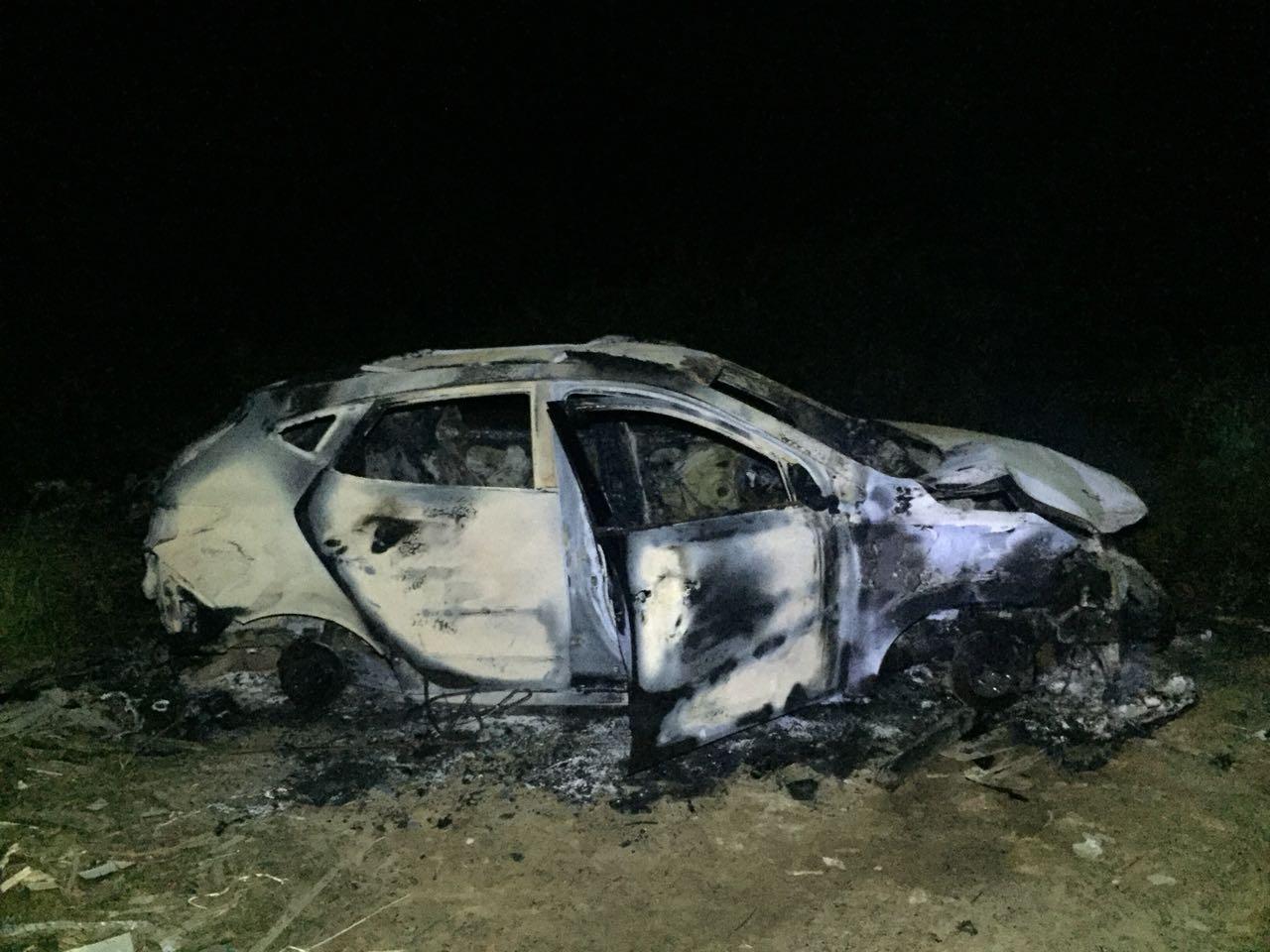 Mais um veículo é incendiado em Criciúma