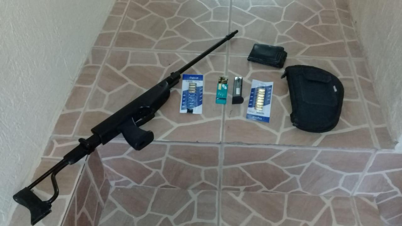 Polícia Militar apreende três armas de fogo em Criciúma