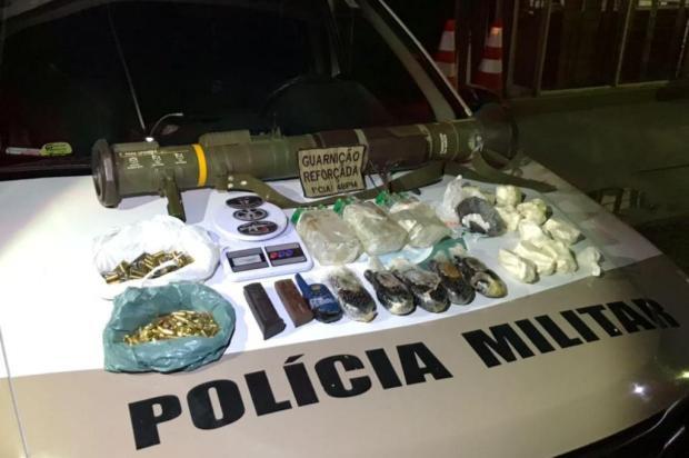 Polícia Militar apreende bazuca