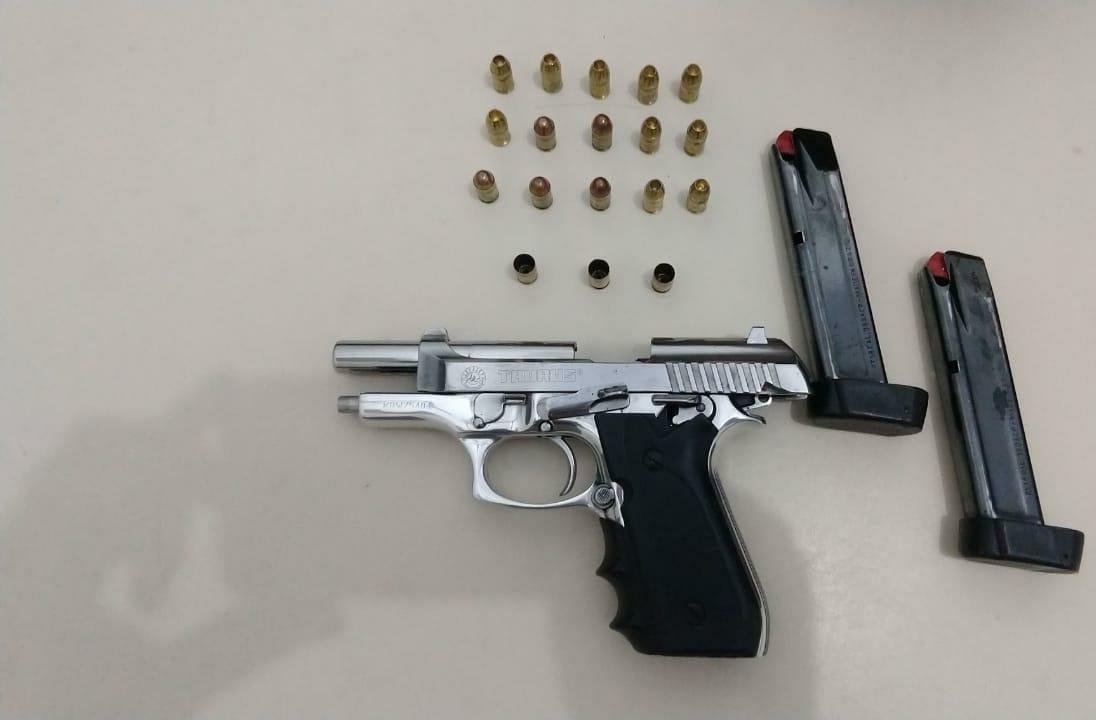 Polícia Militar prende bandido armado em Criciúma