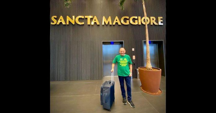 Luciano Hang recebe alta hospitalar após contrair Covid-19