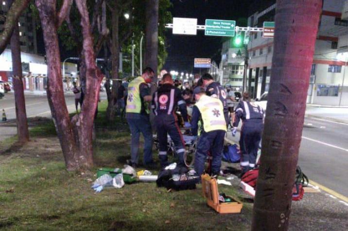 Morre no hospital homem atropelado por bandidos que fugiam da polícia em Criciúma
