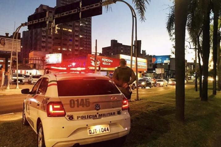 Três assaltos são registrados nesta segunda-feira em Criciúma; uma das vítimas foi agredida