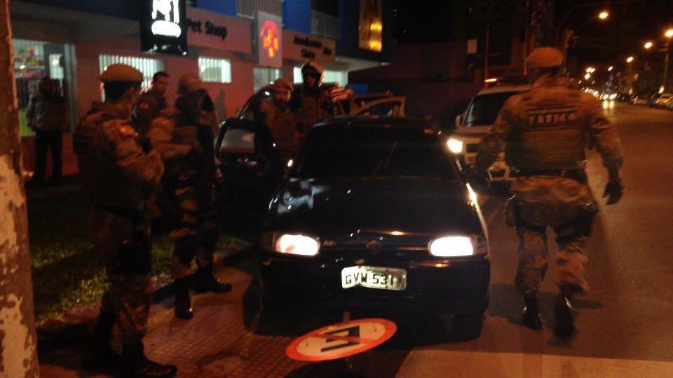 Assaltantes são presos em flagrante em Criciúma