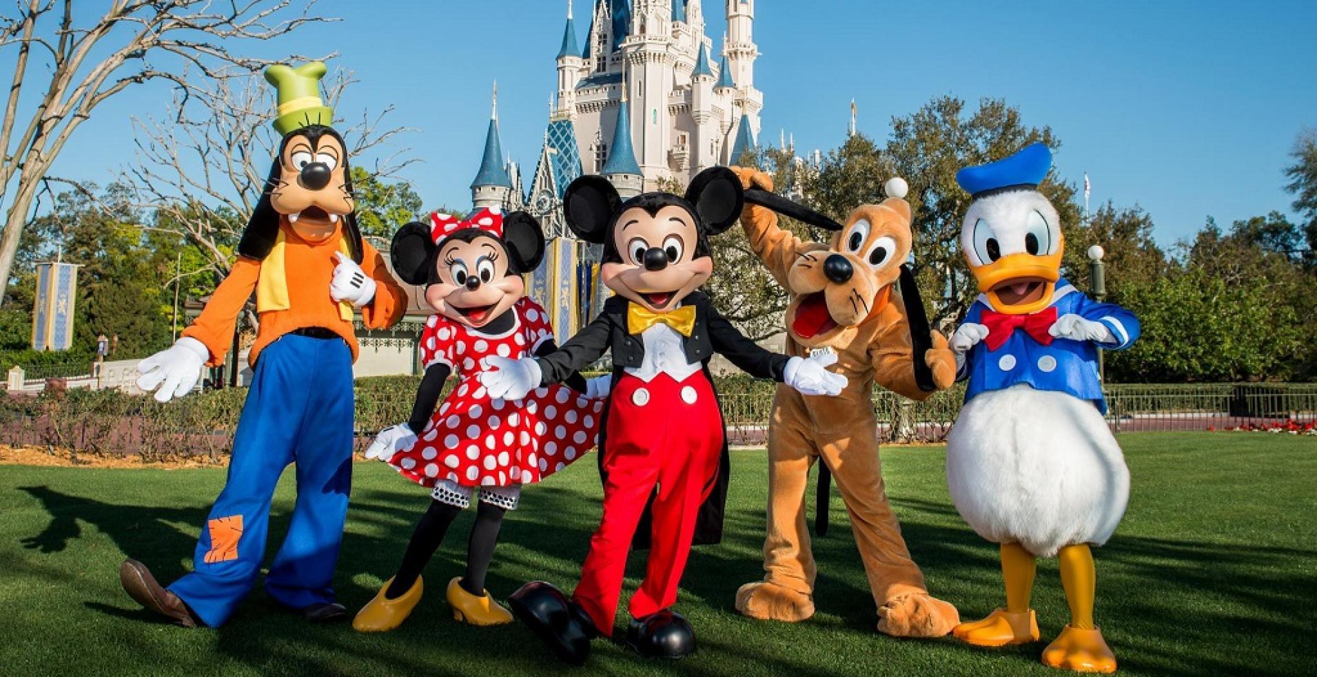 O velho sonho de conhecer o mundo mágico da Disney