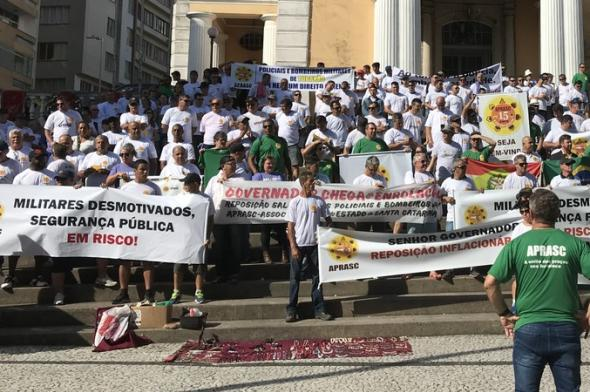 Praças da Polícia Militar realizarão protesto por reajuste salarial