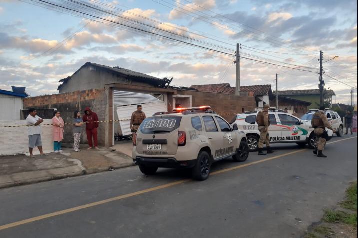 Polícia Militar prende bandido que matou a filha em Criciúma