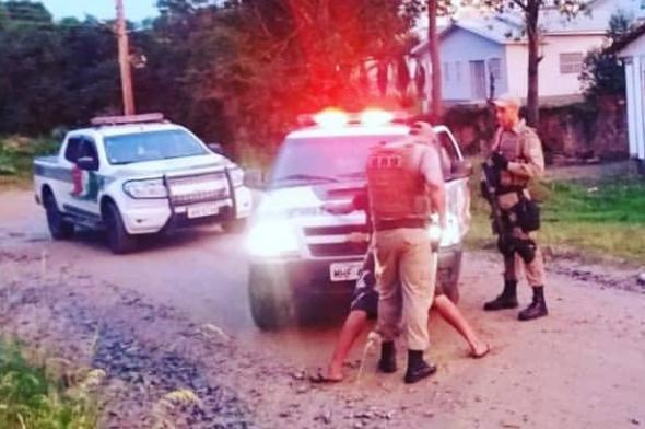 Estuprador é preso no bairro Mina União em Criciúma