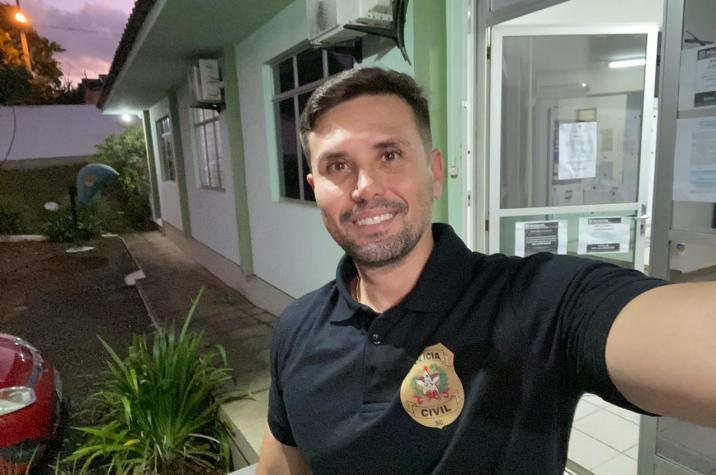 Delegado Márcio Neves pode ser o único candidato da segurança pública nas eleições em Criciúma