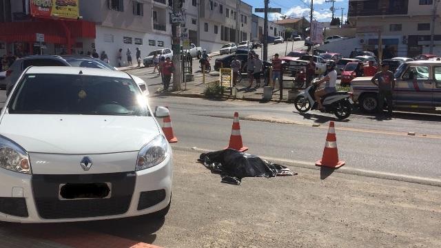Idoso morre em acidente