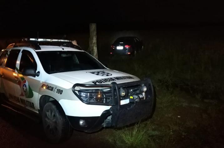 Criminoso é preso após assaltar residência e trocar tiros com a PM em Criciúma