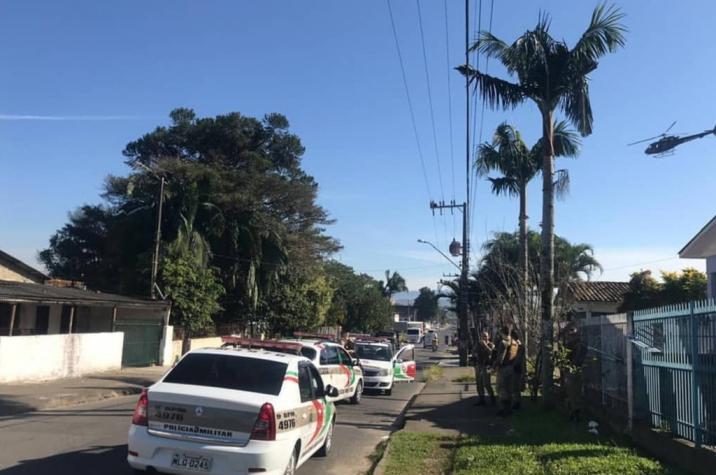 Homem é morto a tiros no bairro Santo André em Criciúma