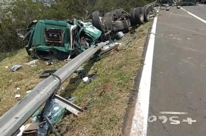 Motorista de Criciúma morre em grave acidente em Osório