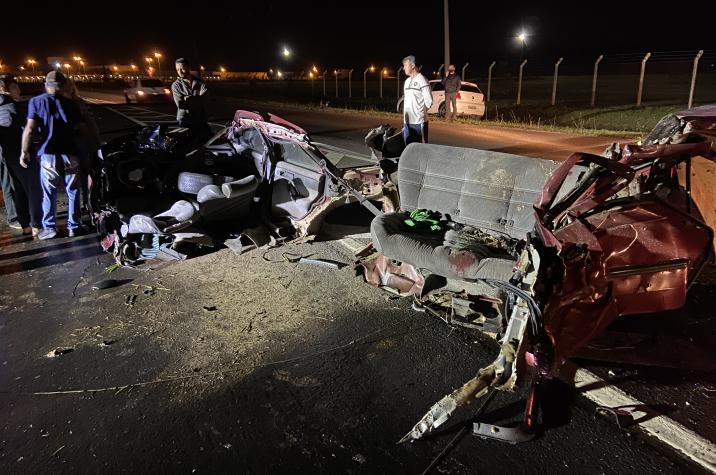 Acidente gravíssimo tira vida de três pessoas em Araranguá