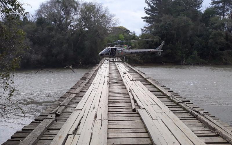 PM diz que levou apenas duas horas para fechar acessos com o Paraná