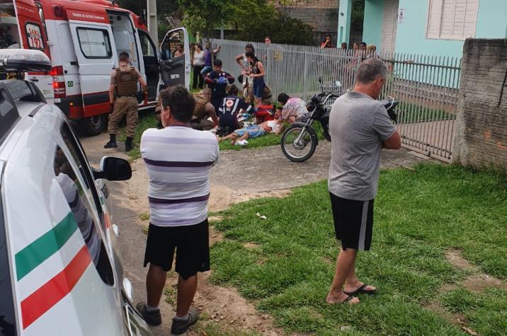Por conta do som alto, dois homens são esfaqueados em Criciúma