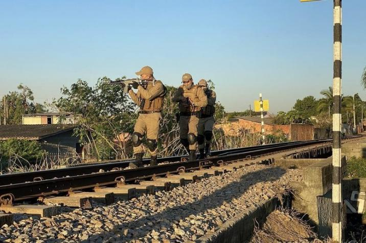 Através da GR-9, Brigada Militar prende um dos líderes de facção criminosa de SC