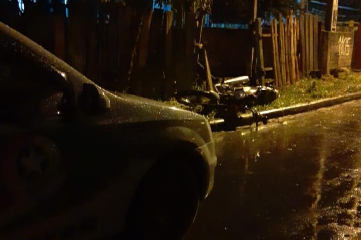 Homem morre ao colidir em barranco em Criciúma