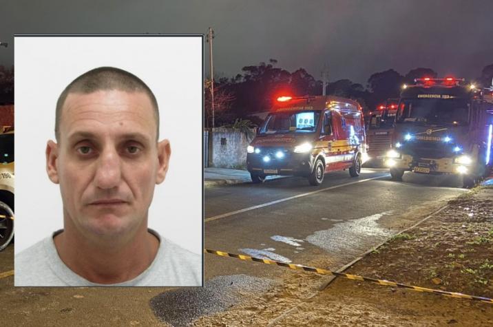 Criminoso que matou a filha em Criciúma tinha diversas passagens pela polícia por violência doméstica