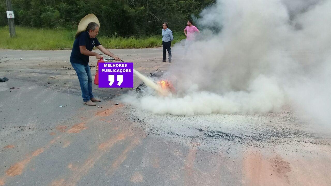 Acidente gravíssimo é registrado em Criciúma