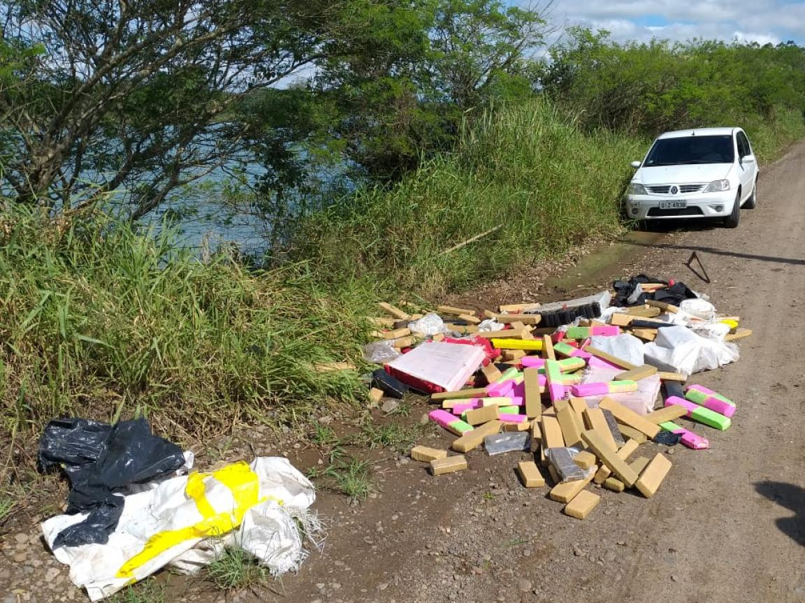 Polícia Civil de Criciúma apreende 400 kg de maconha
