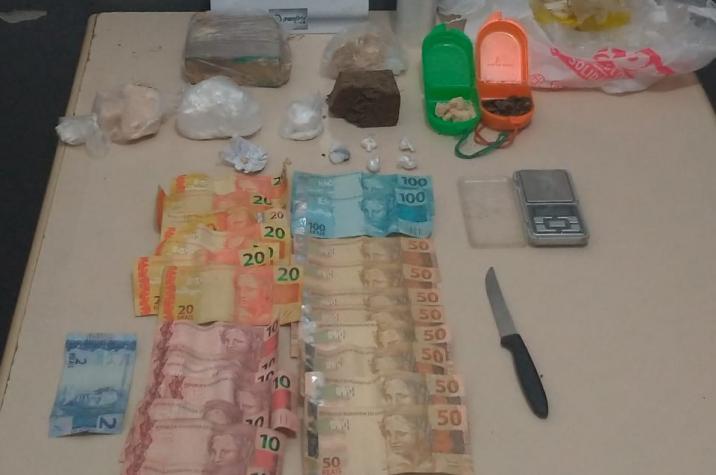 Polícia Militar prende traficante e apreende drogas em Criciúma
