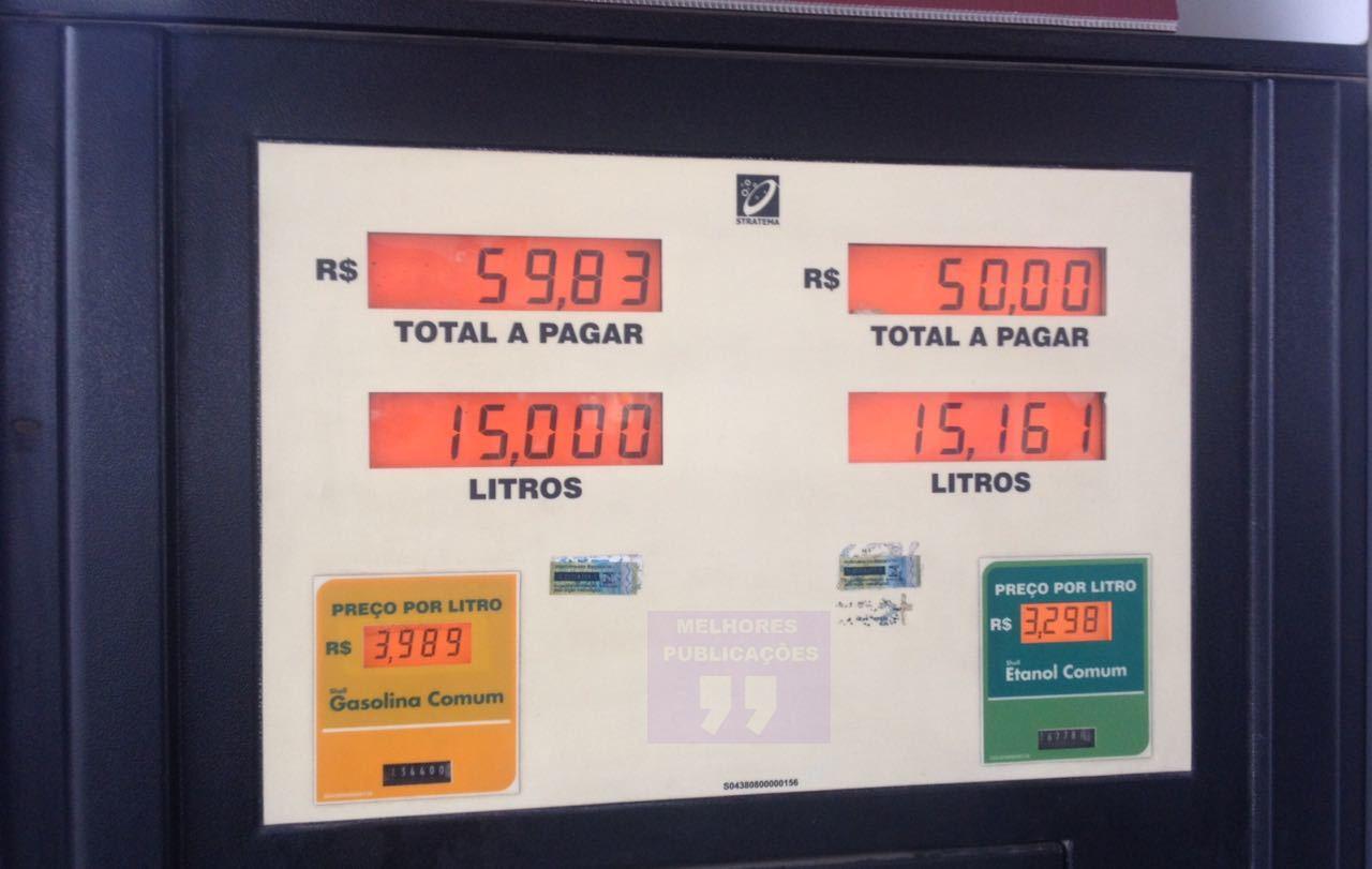 Menos combustível, menos rondas