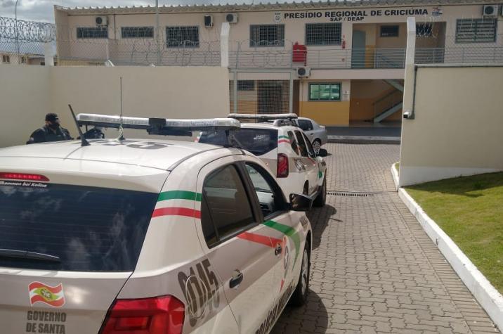 Polícia Militar recaptura foragido em Criciúma