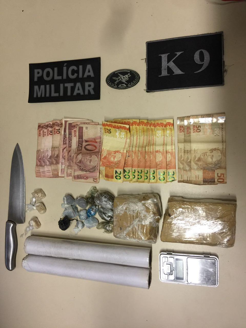 Traficante é preso em Criciúma