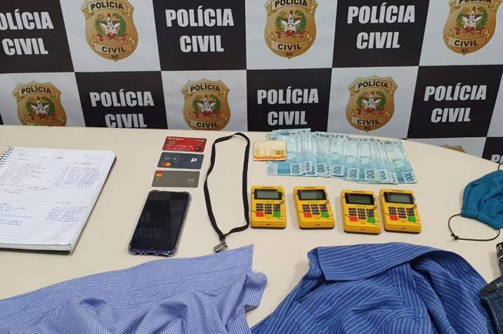 Bandido que aplicava golpes em idosos é preso em Criciúma