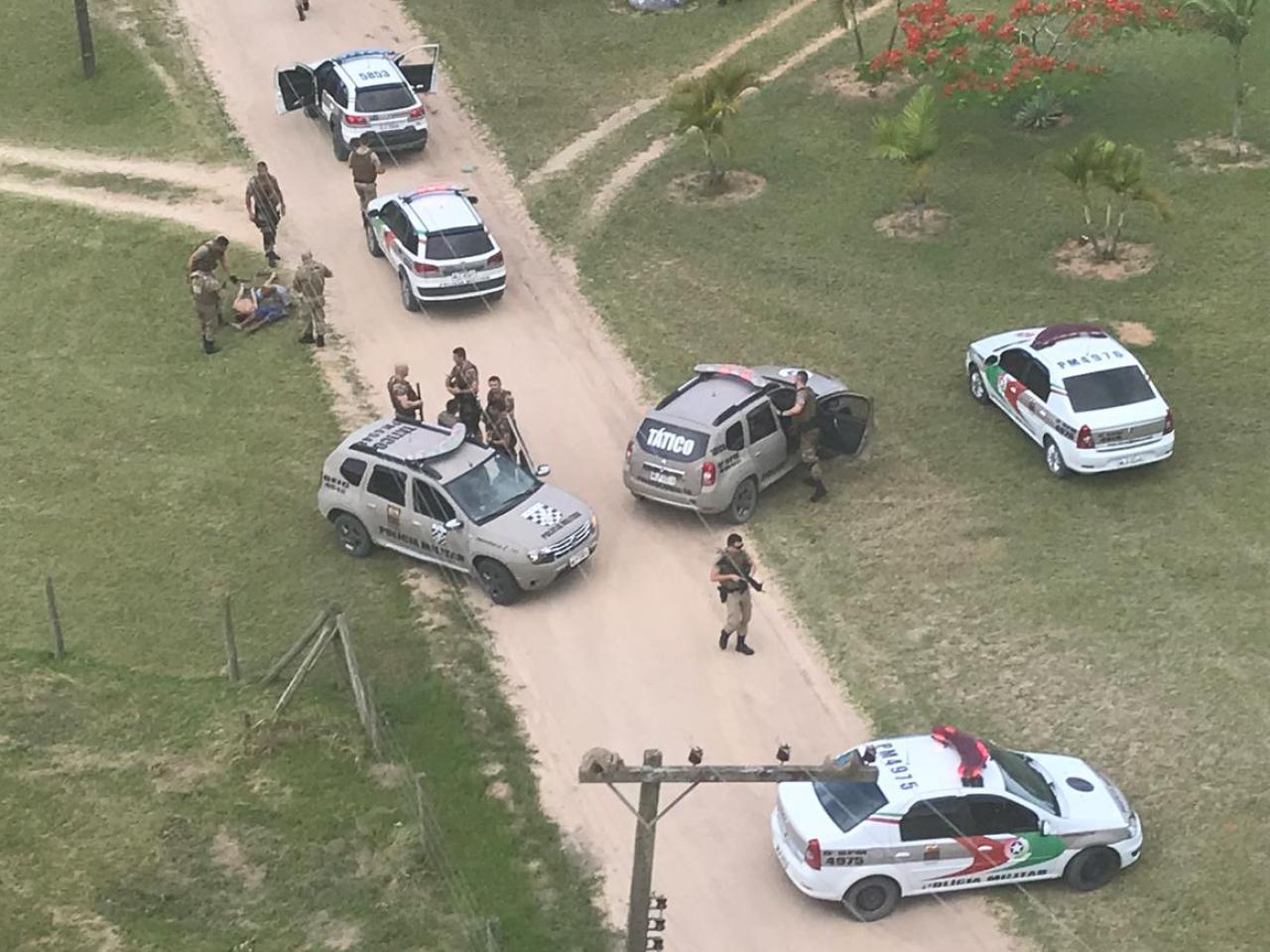 Após longo acompanhamento tático, assaltantes são presos pela Polícia Militar