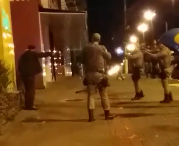 Criminoso morre após confronto com a polícia em Chapecó
