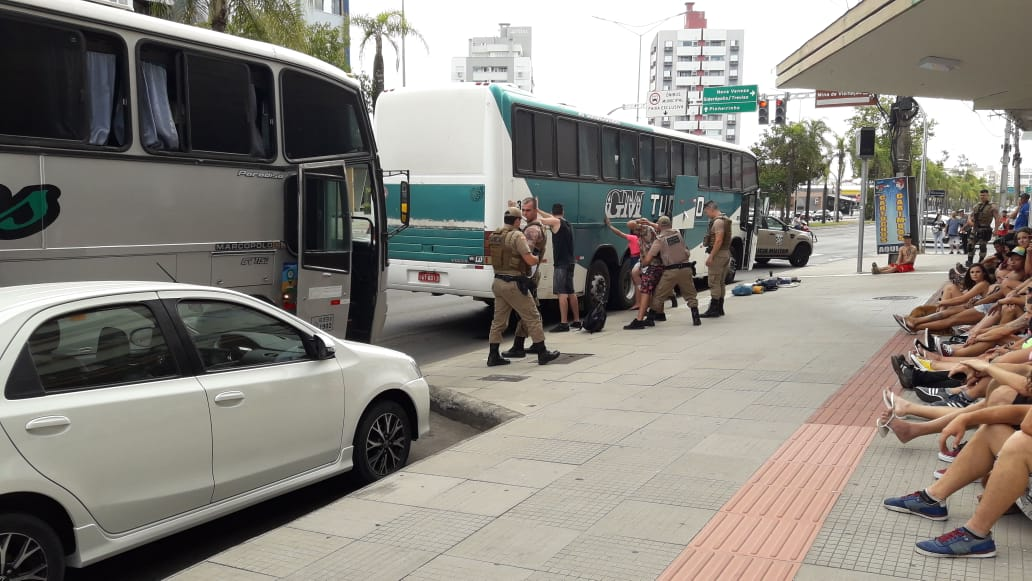A caminho de festa rave, traficantes são presos em Criciúma