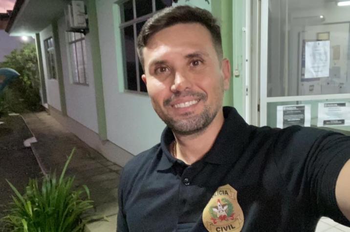 Oficial: delegado Marcio Neves desiste da campanha para vereador em Criciúma