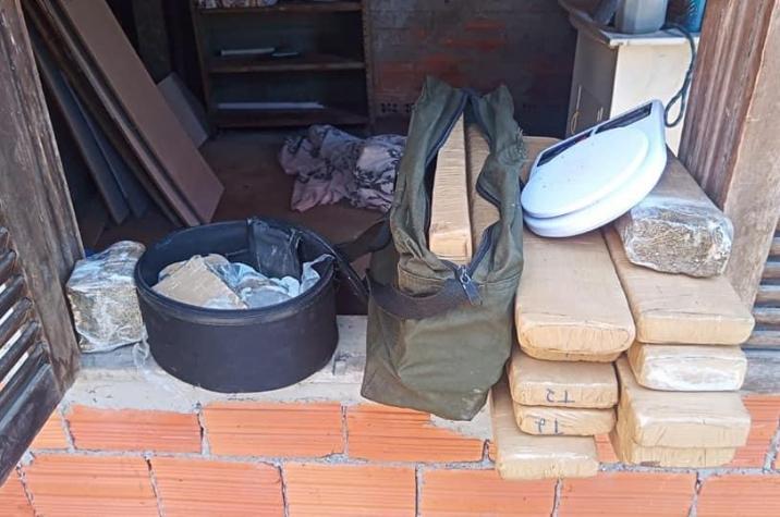 Traficantes são presos com 21kg de maconha em Criciuma
