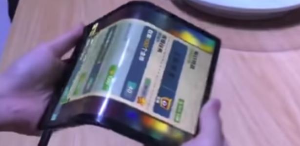 Empresa chinesa apresenta o primeiro celular dobrável do mundo