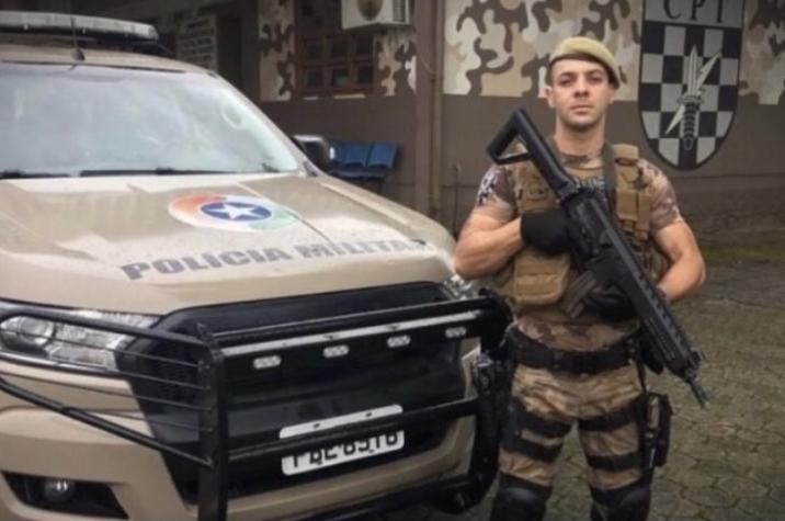 Policial ferido em assalto recebe alta hospitalar