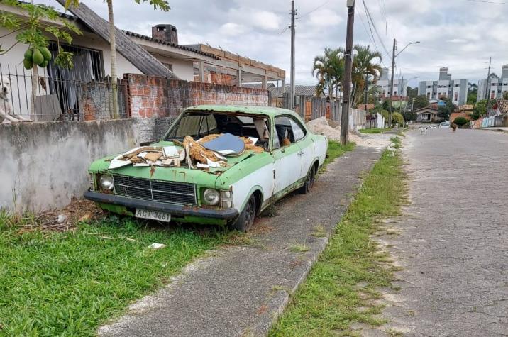 Projeto de Lei quer remover veículos abandonados em Criciúma