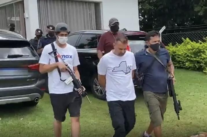 Polícia prende maior ladrão de bancos do Brasil no interior de SP