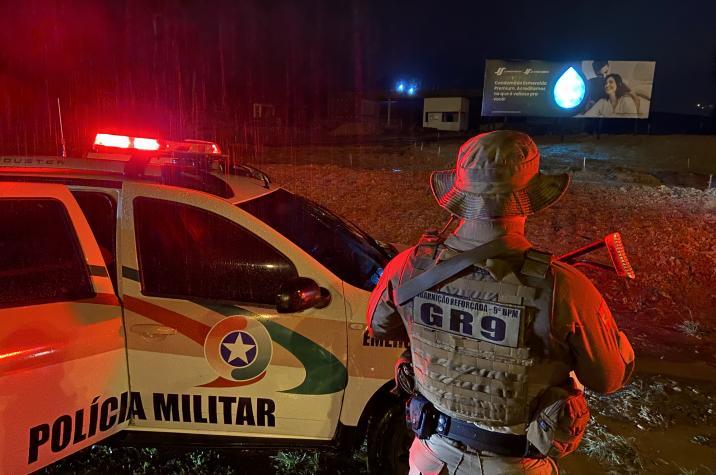 Bandido morre após confronto o com a GR-9 em Criciúma
