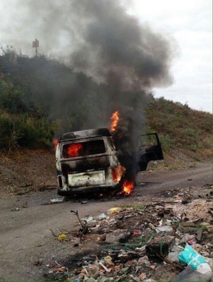 Veículo da Prefeitura é incendiado em Criciúma