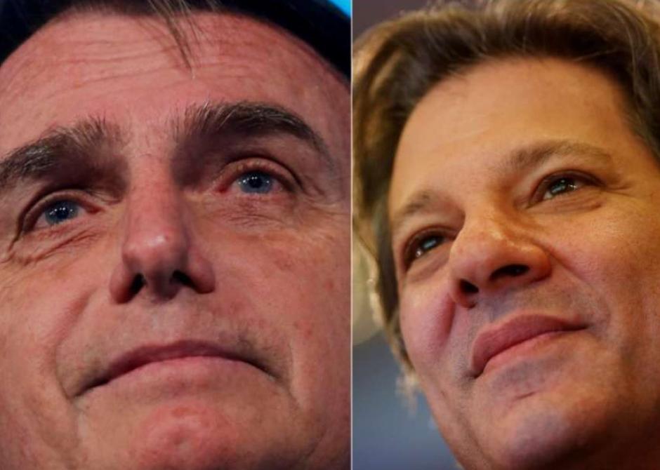Pesquisa: Bolsonaro dispara contra Haddad e vira sobre Ciro
