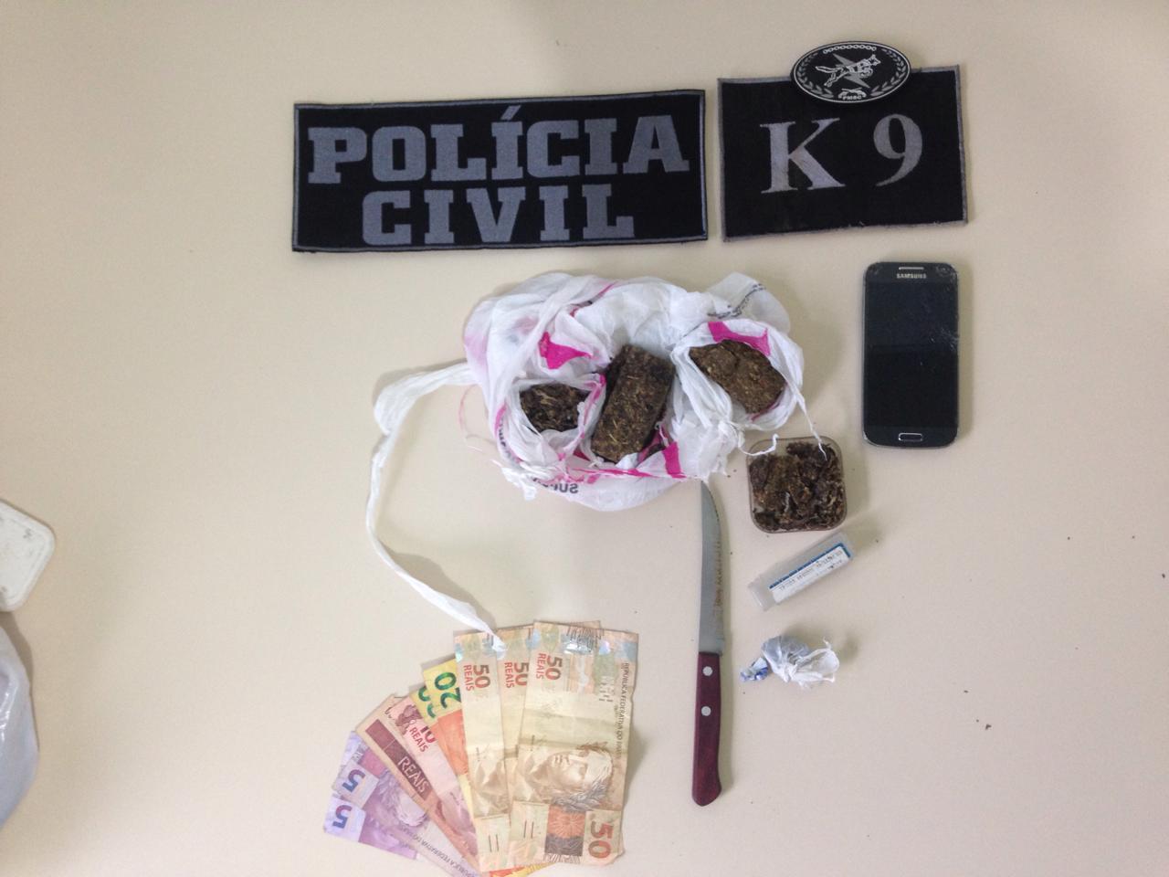 Traficantes são presos em Jaguaruna