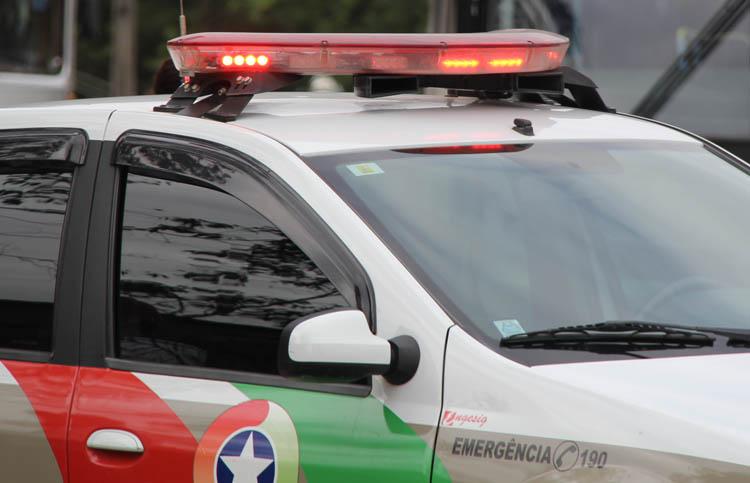 Motocicleta é tomada de assalto em Criciúma